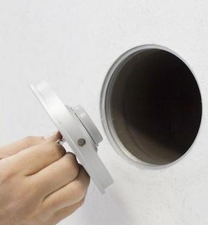 Coffre fort camouflé encastrable, installation simple