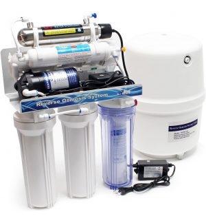 Filtration de l'eau pour la maison et nettoyer votre eau du robinet